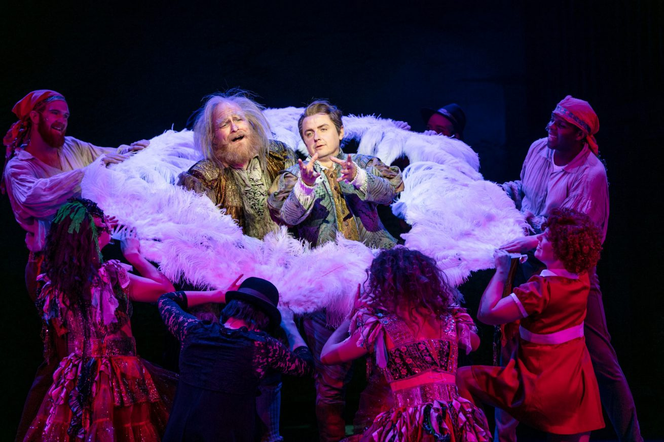 The musical Something Rotten 2018